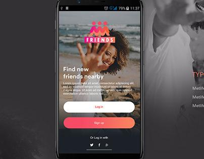 Friends App