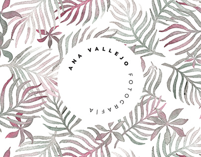 Branding para Ana Vallejo Fotografía