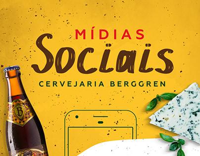 Mídias Sociais | Cervejaria Berggren e Lamas Brew Shop