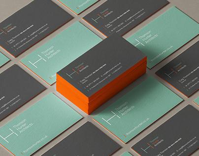 Thomson Hunter - Architecturals - Logo and branding