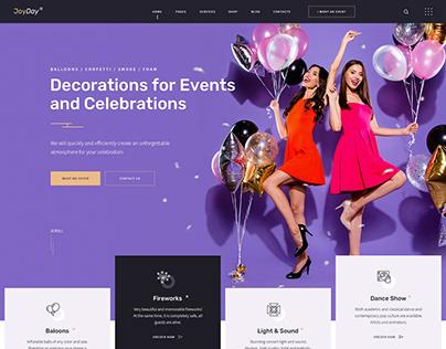 JoyDay - Creative Event Agency WordPress Theme