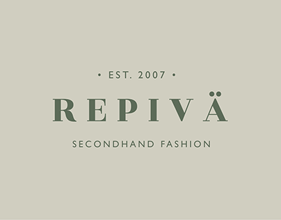 Logo for seconhand store