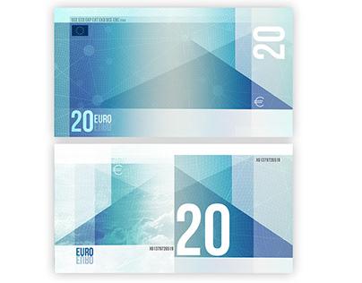 20 euro bill idea