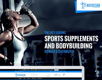 T-Nutrition   E-Commerce Website