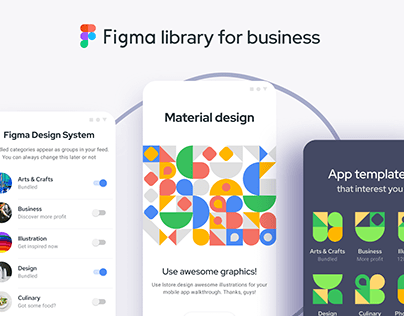 Figma Material Design kit - Components and templates