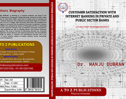Book Cover Freelance project