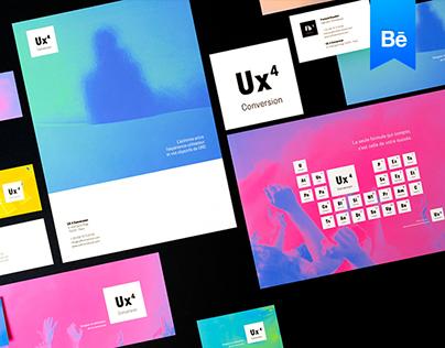 Ux4Conversion - Brand design