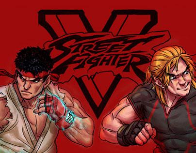 Street Fighter V Roster FanArt