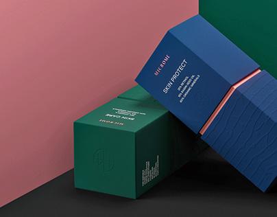 Microme cosmetics — Brand concept