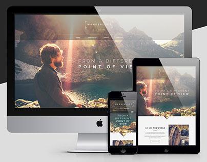 Wanderlust Travel Photography - Responsive Web Design