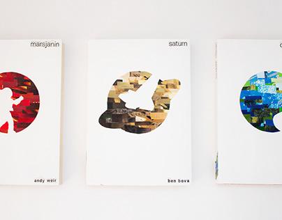 Sci-fi book covers series