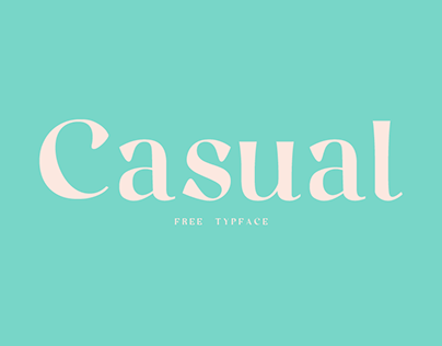 Casual // Free Typeface