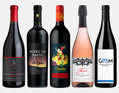 Wine Label Collection