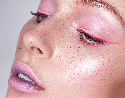 PINK. Retouch for ph. Dominic Nicholls