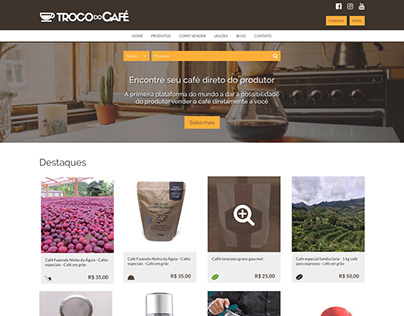 Troco do café - Marketplace