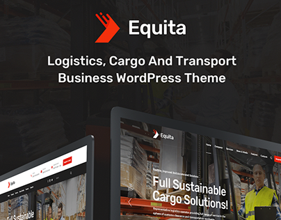 Equita Logistic and Transport WordPress Theme