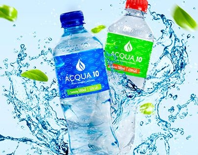 Acqua 10 - Identidade Visual e Embalagens