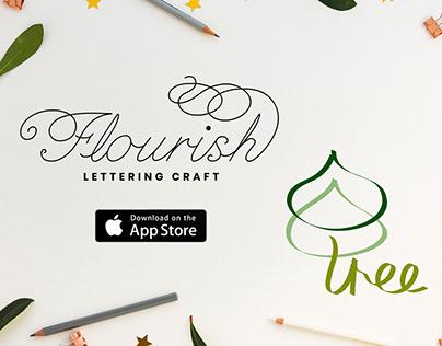 Flourish - Lettering Craft iOS App