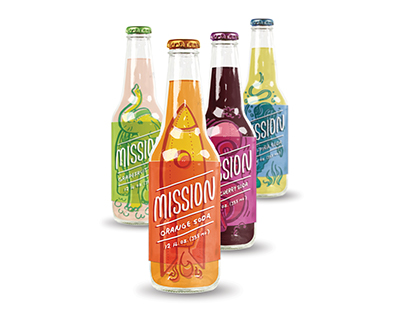 Mission Beverage Package Design