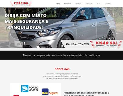 Web Site Expresso Visão Sul