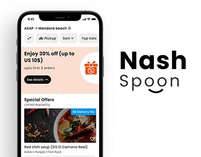 Nash Spoon - On-demand Food delivery app