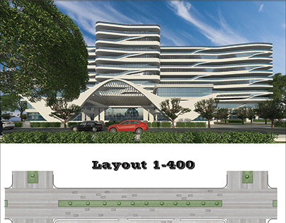 350 bed hospital project