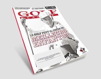 GOLF CANADA MAGAZINE