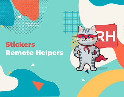 Stickers Remote Helpers
