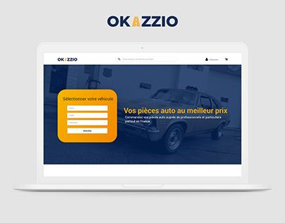 Okazzio - WebSite