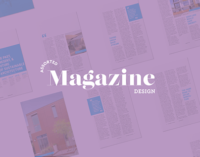 Assorted Magazine Design