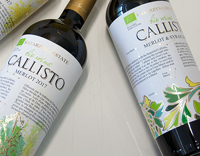 Callisto series - BIO WINE
