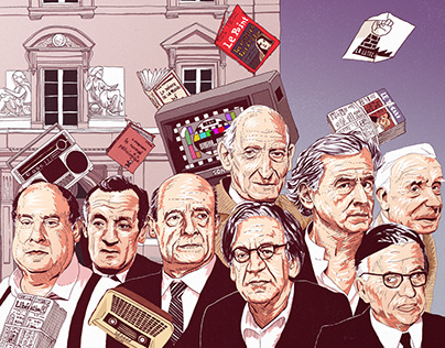 Illustrations - Le déclin des intellectuels