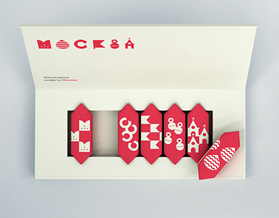 «Moscow» candies packaging