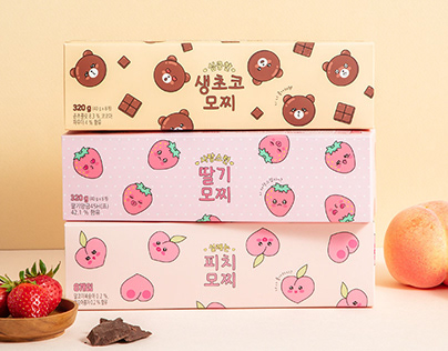 Mochi Serise / Dessert Package design