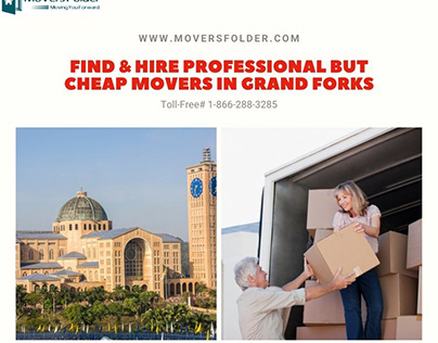 Find Professional but Cheap Movers in Grand Forks