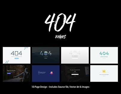 404 Pages Design