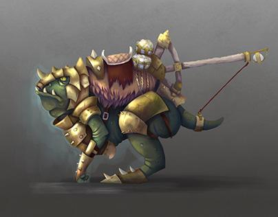 Concept art goblin mount