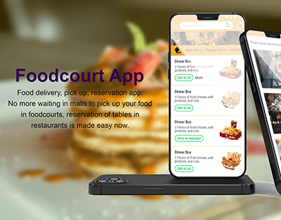 Food Ordering and Reservation App
