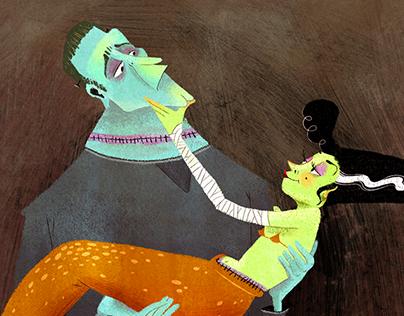 Mr & Mrs Frankenstein
