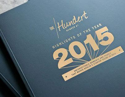 """Illustration for the """"The Hundert"""" magazine"""