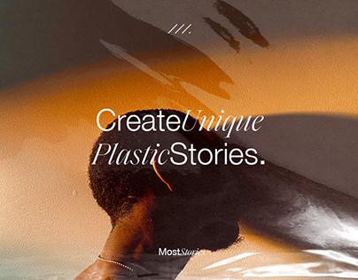 Plastic Instagram Template Story Editor App