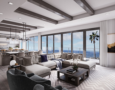 3D Architectural Visualization, Laguna Beach