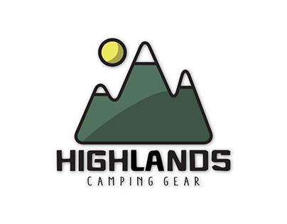 Highlands Camping Gear | Brand Identity