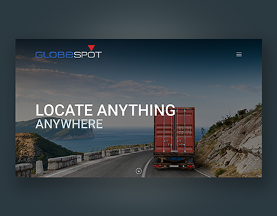 Website design for GPS equipment company