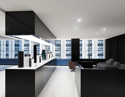 Incubator Kendo beauty store rendering
