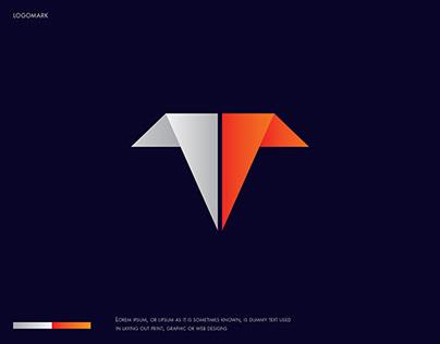 T letter Logo, Modern T logo