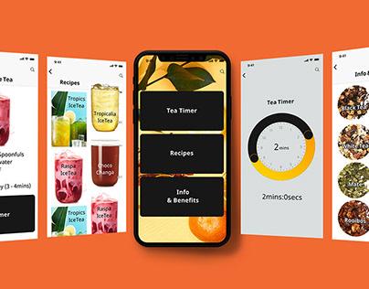 UX & UI Design - Tea App