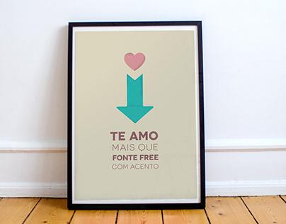 FREE Download: Amor de Designer Posters