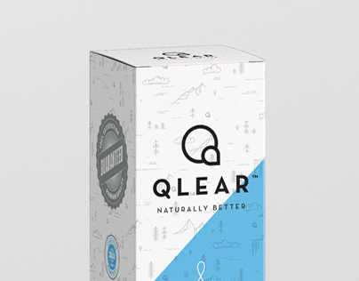 Qlear - Branding, Packaging