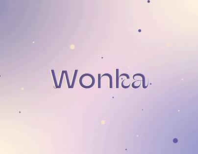 Wonka chocolate redesign branding